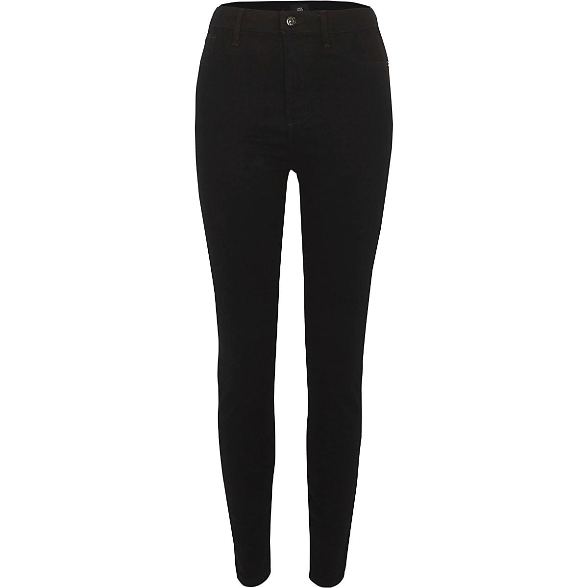 Luxus-Ästhetik letzte Veröffentlichung großer Verkauf Black high waisted Harper skinny jeans