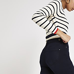 Navy blue Molly skinny jeggings