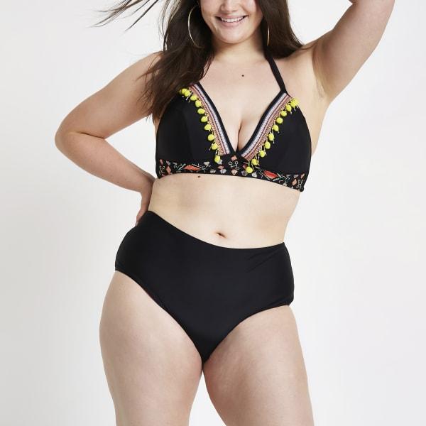 River Island - plus – haut de bikini dos nu  à - 2