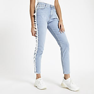 Casey – Hellblaue Slim Fit Jeans