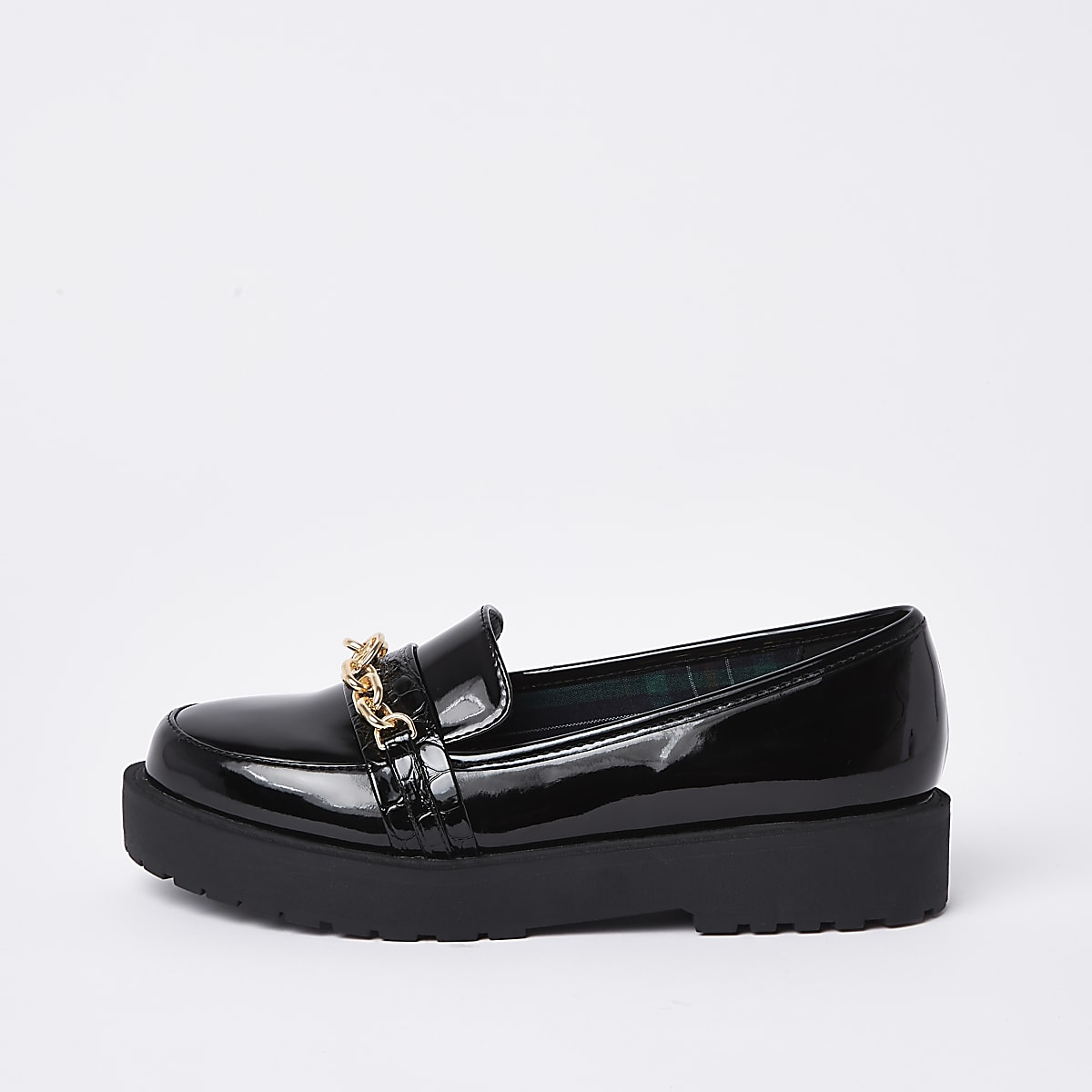 100acff8fb36 Black chunky chain loafers - Shoes - Shoes   Boots - women