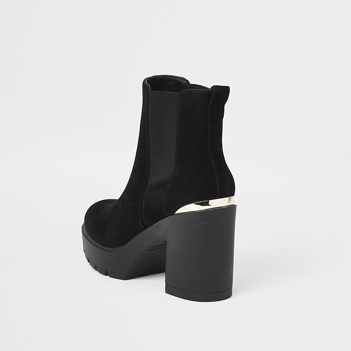 26a13cc9191b6 Black chunky chelsea boots - Boots - Shoes & Boots - women