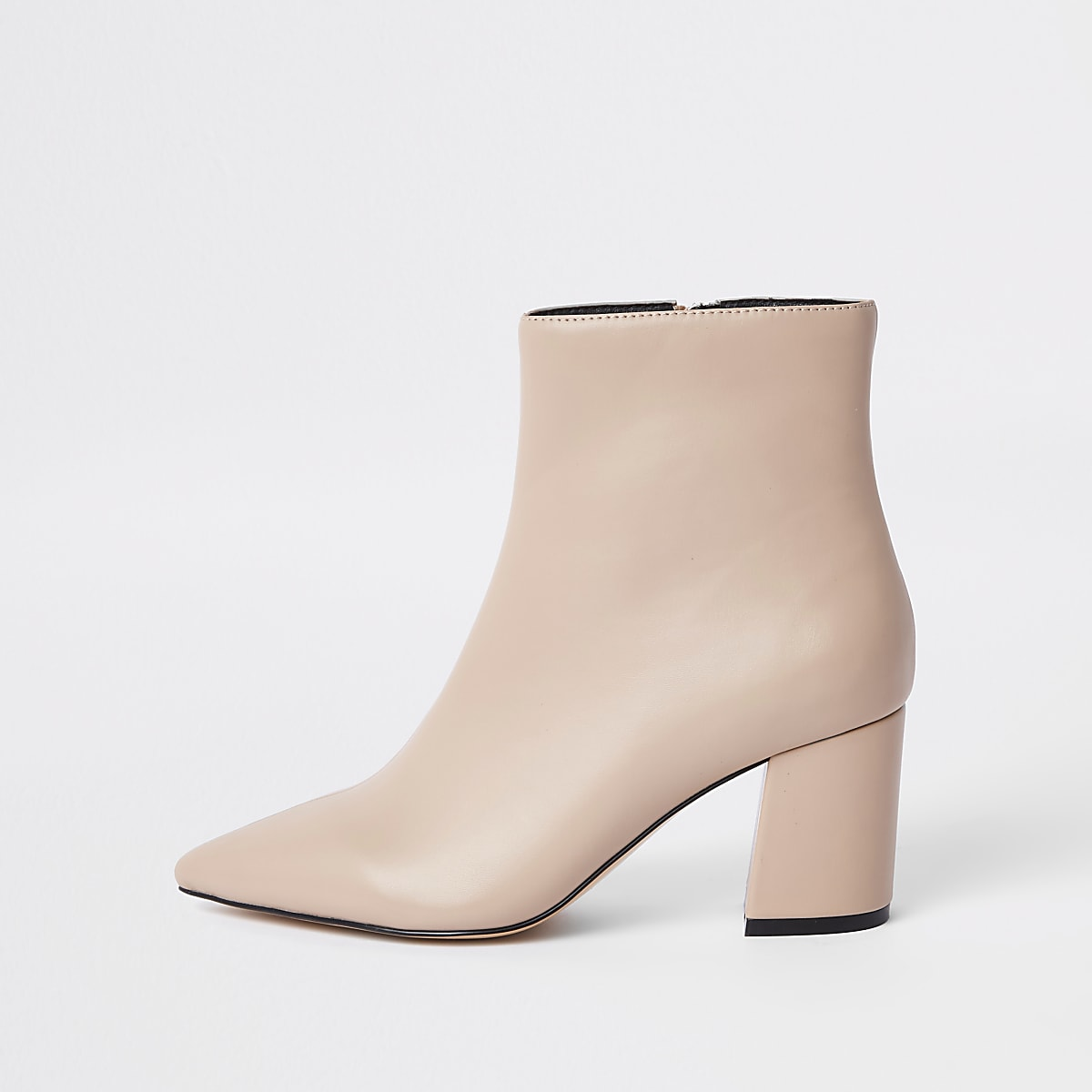 fadaf0fe417 Pink pointed block heel boots - Boots - Shoes   Boots - women