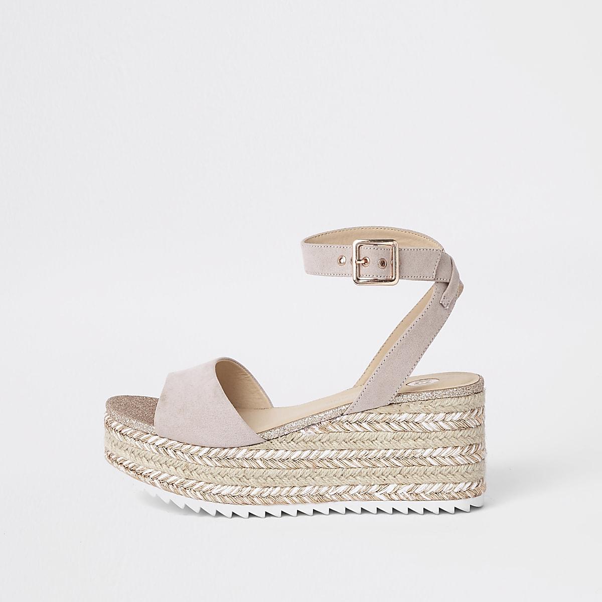 1b7a5ee9e1e6 Gold glitter espadrille platform sandals Gold glitter espadrille platform  sandals ...