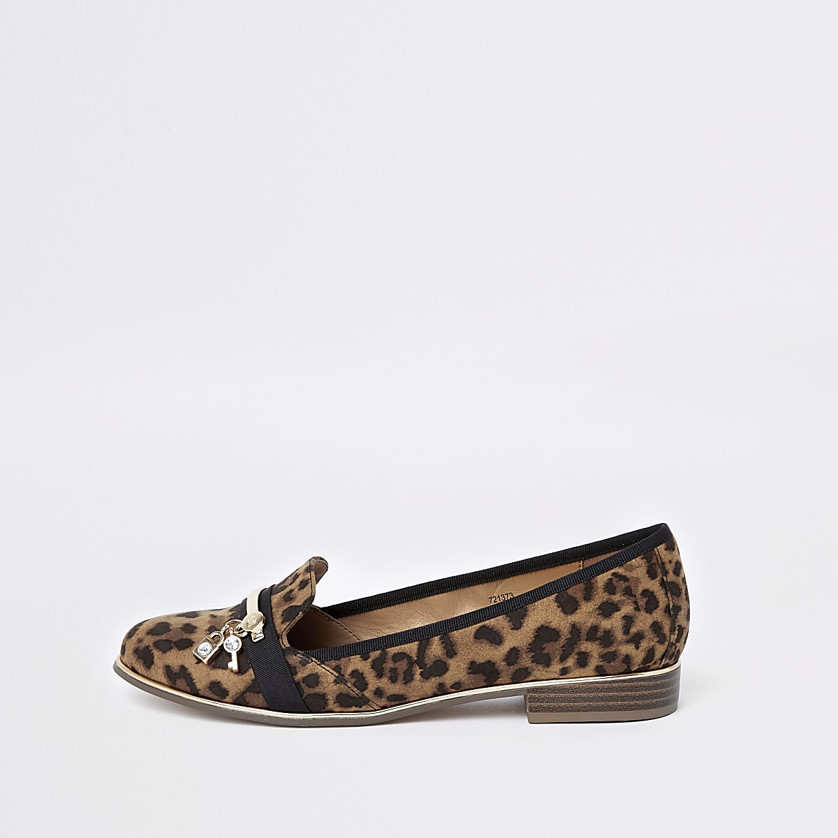 32e289c64c3 Brown leopard print lock and key loafers - Shoes - Shoes   Boots - women