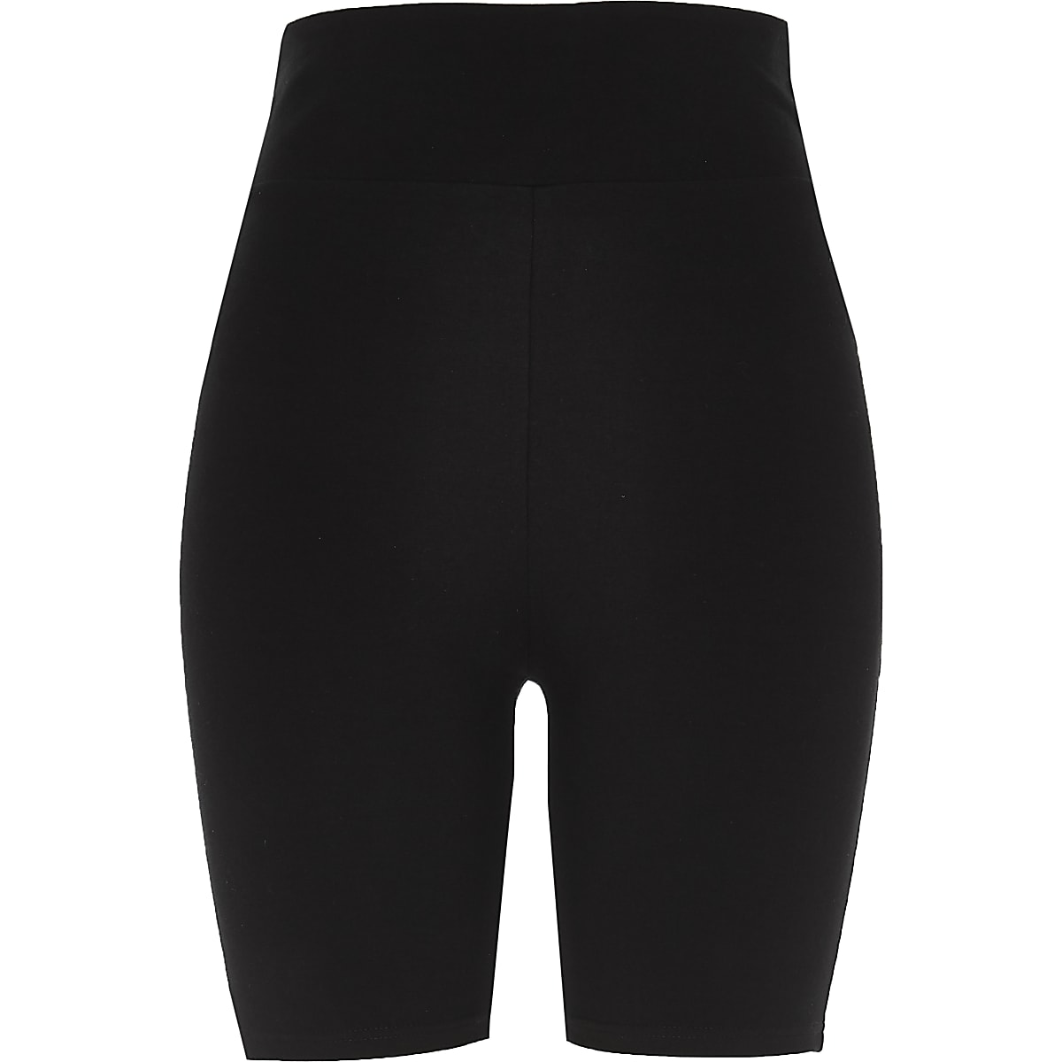 9fcf2725a2 Black high waisted cycling shorts - Casual Shorts - Shorts - women