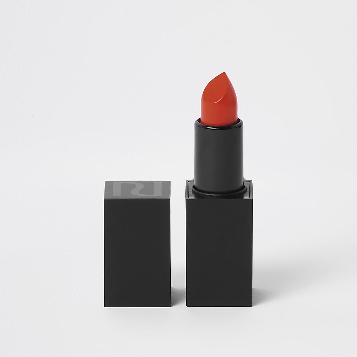 Orange matte lipstick In real life