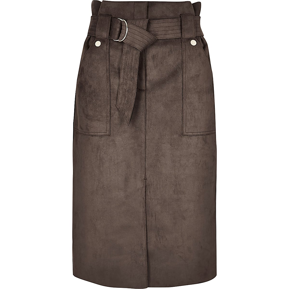 9cc8edbd5 River Island Denim Midi Skirt