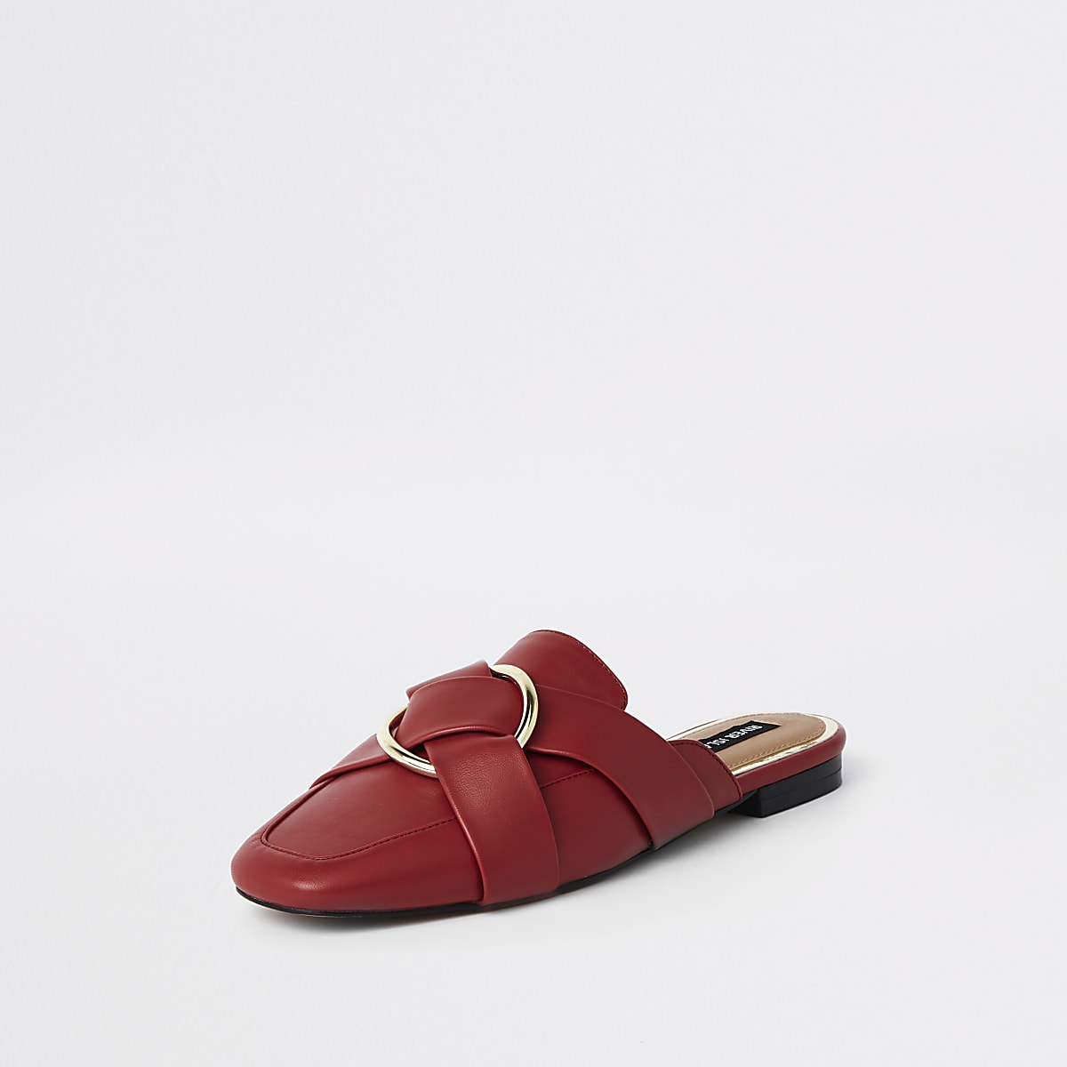 Backless Women Loafers Boots Shoesamp; Red Ring bYf76vgy