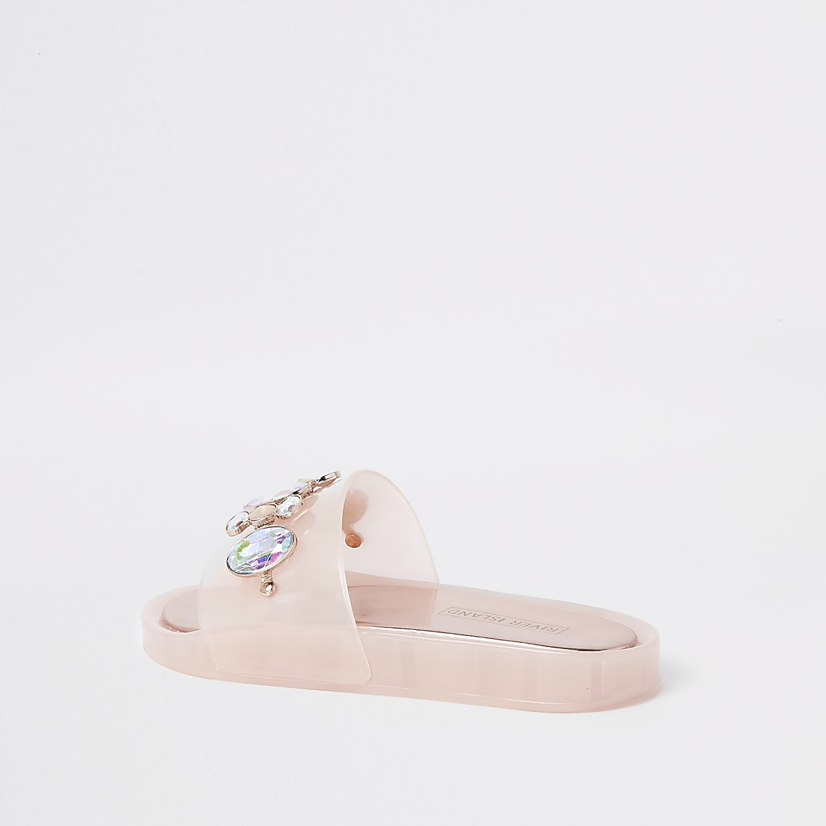 027bb7149978 Pink jelly embellished sliders - Sandals - Shoes   Boots - women