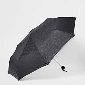 Black compact RI umbrella