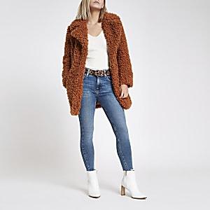 RI Petite - Amelie - Middenblauwe skinny jeans