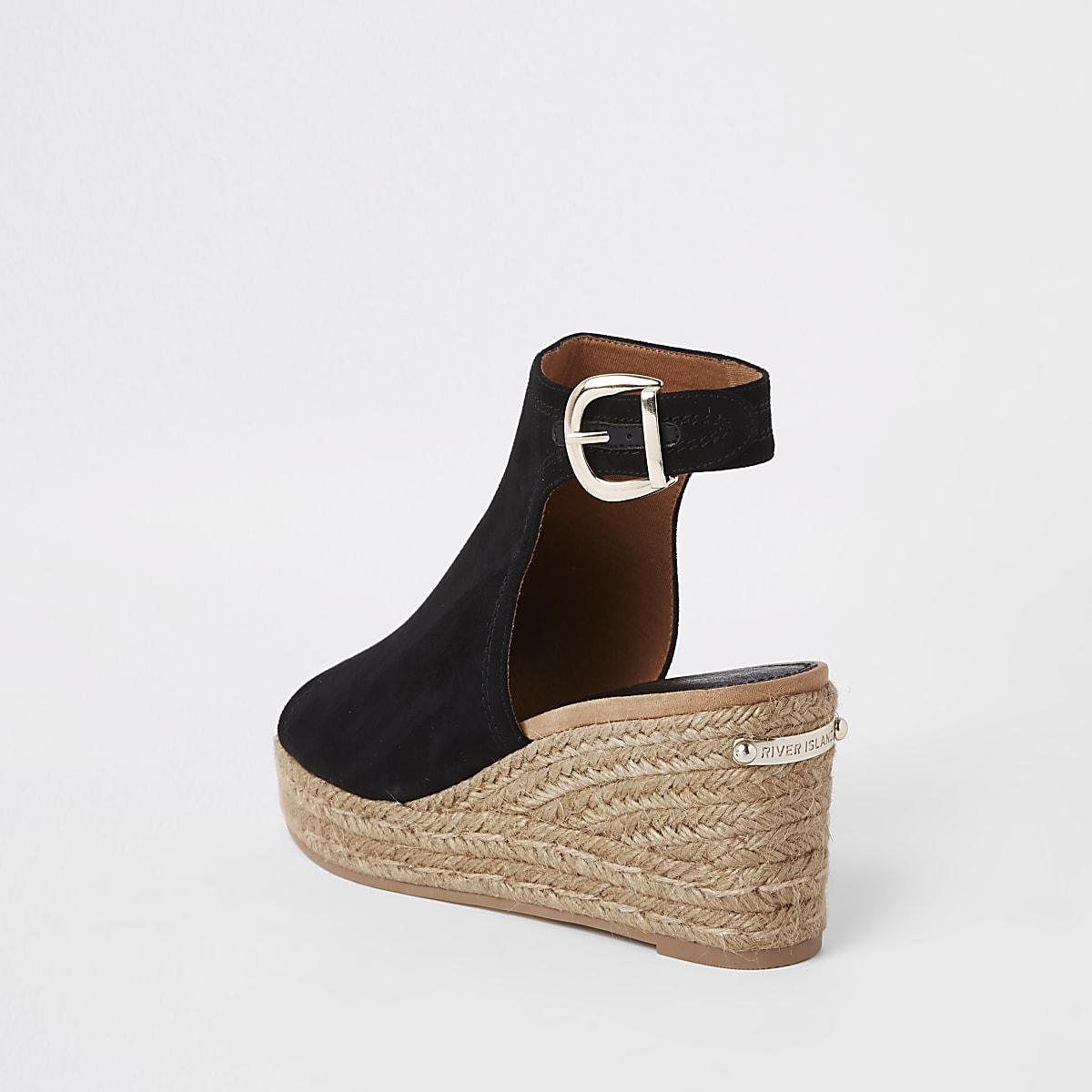ff7d3cc2a2c Black espadrille platform wedges - Sandals - Shoes   Boots - women