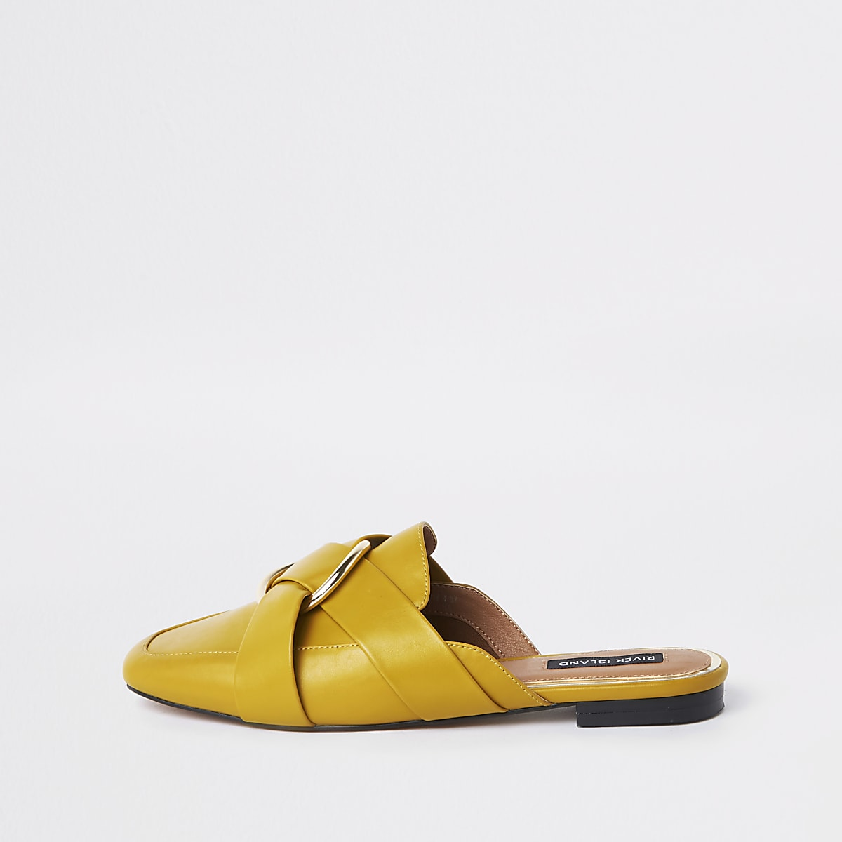 82d53644570 Yellow ring backless loafer - Shoes - Shoes   Boots - women