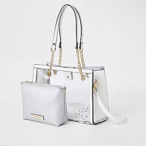 Weiße Tote Bag