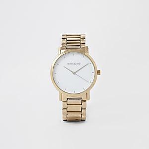 Goldene Armbanduhr