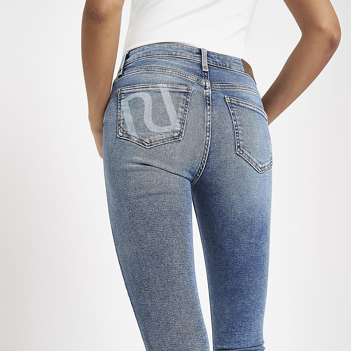 Light blue Amelie RI skinny jeans