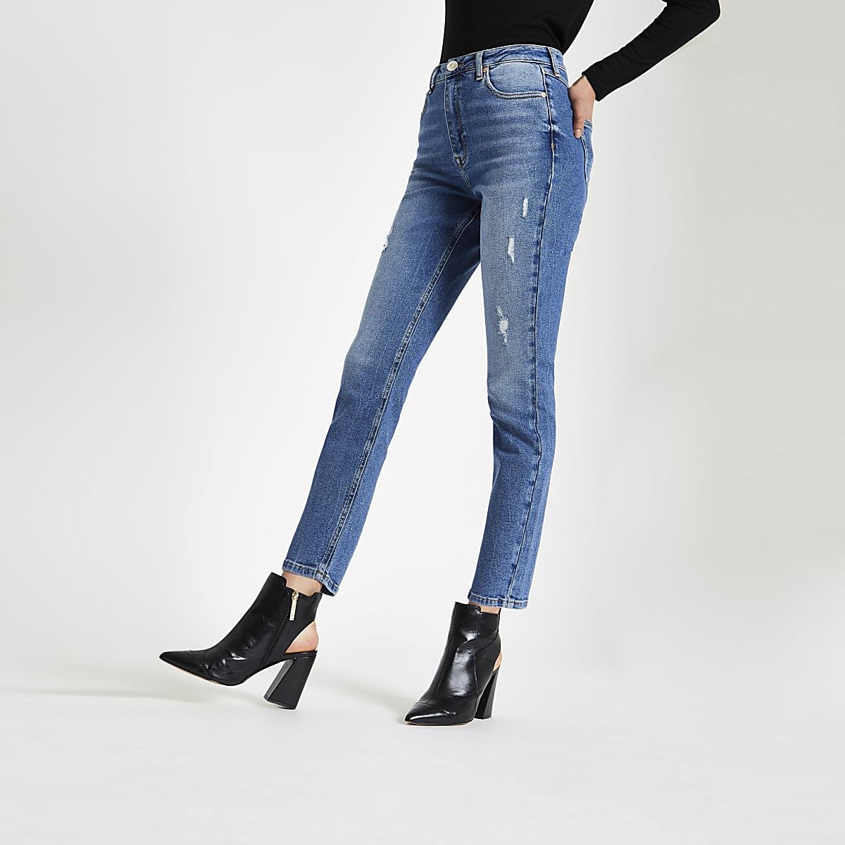 Mid blue Original skinny fit denim jeans