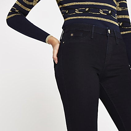 Navy Molly mid rise jeggings