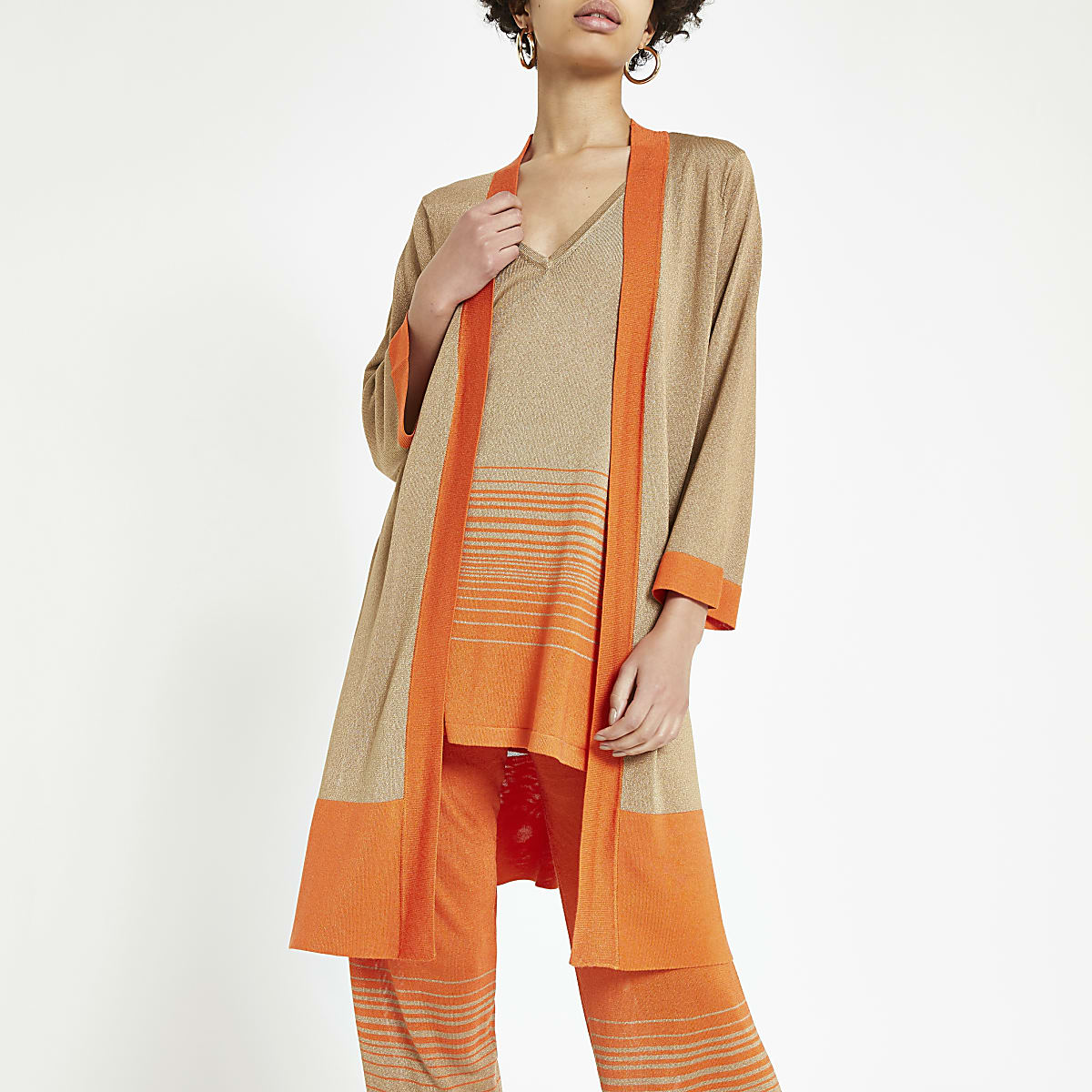 Light brown ombre cardigan