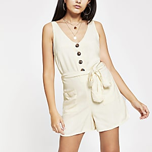 Overall in Creme