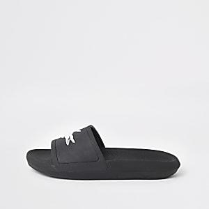 Lacoste - Zwarte slippers