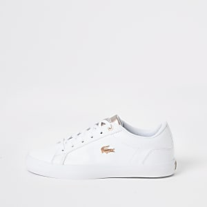 Lacoste - Lerond - Witte lage leren sneakers
