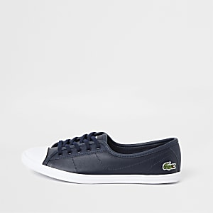 Lacoste – Ziane – Marineblaue Sneaker