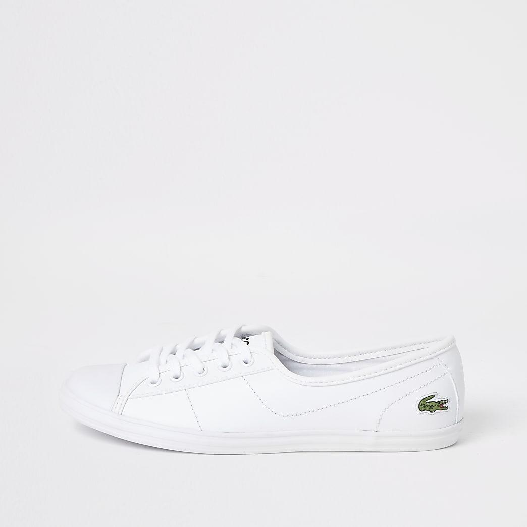 Lacoste white Ziane trainers