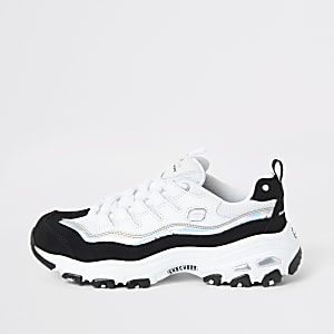 Skechers – Grand View – Baskets blanches