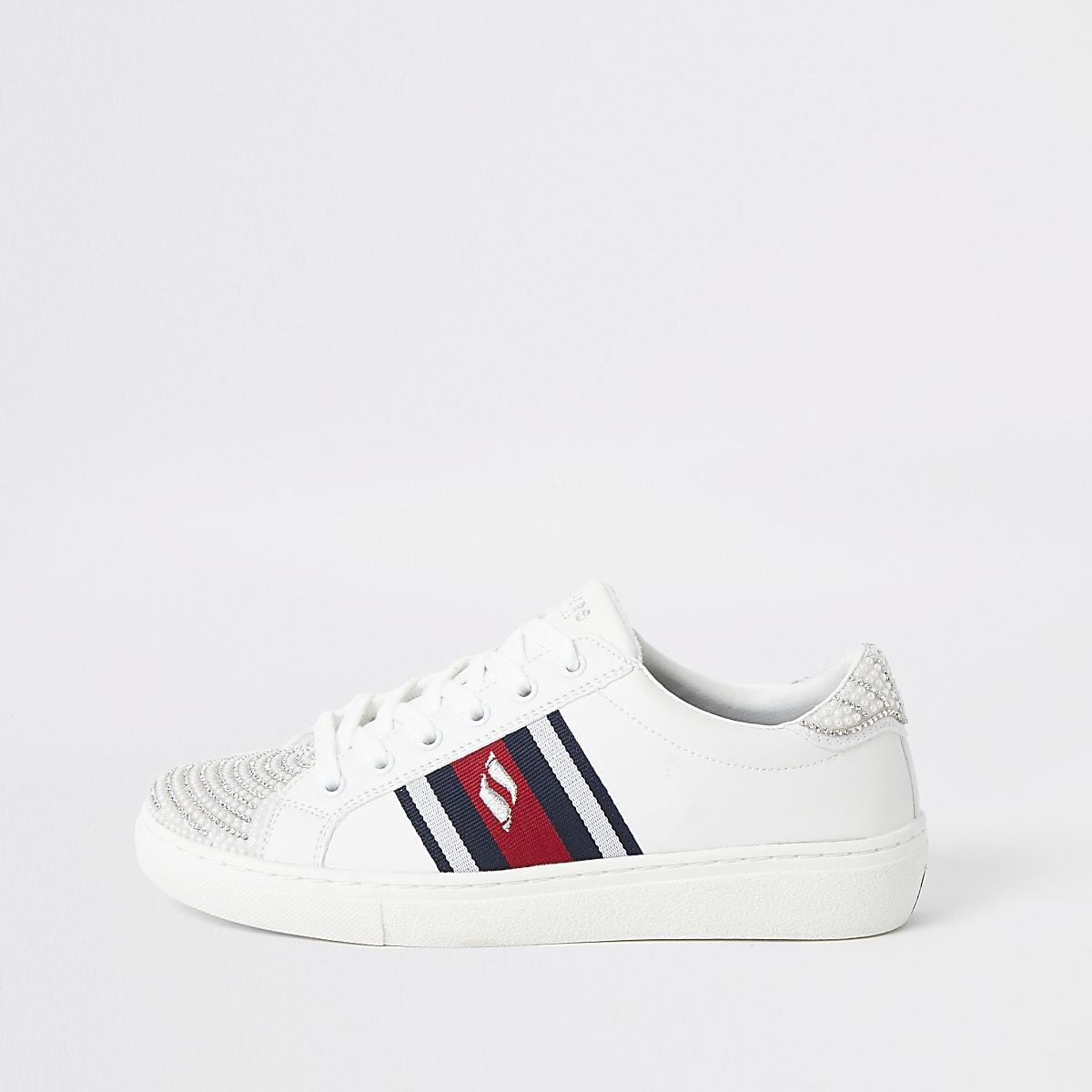 Skechers – Goldie Fly Girl – Weiße Sneakers