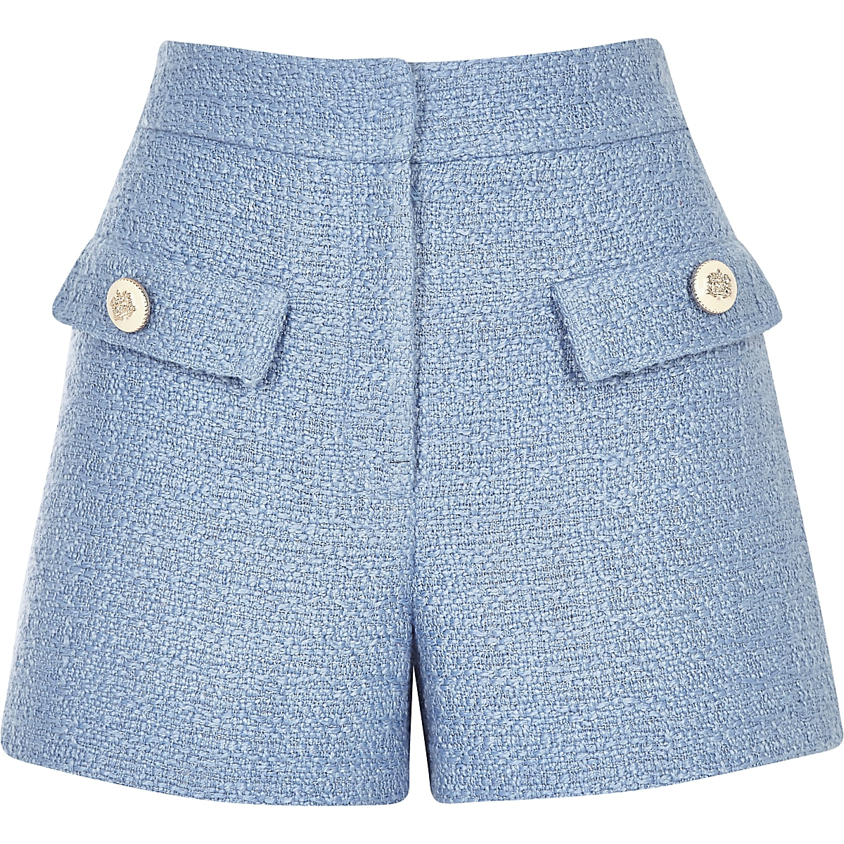 Blue Detail Shorts