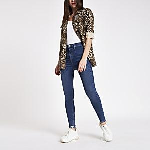 Kaia – Disco-Jeans mit hohem Bund