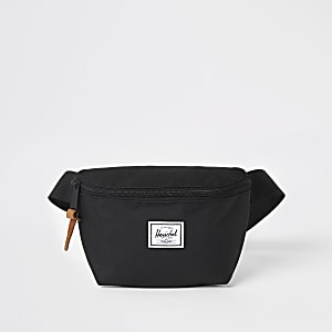 Herschel black Fourteen beltbag