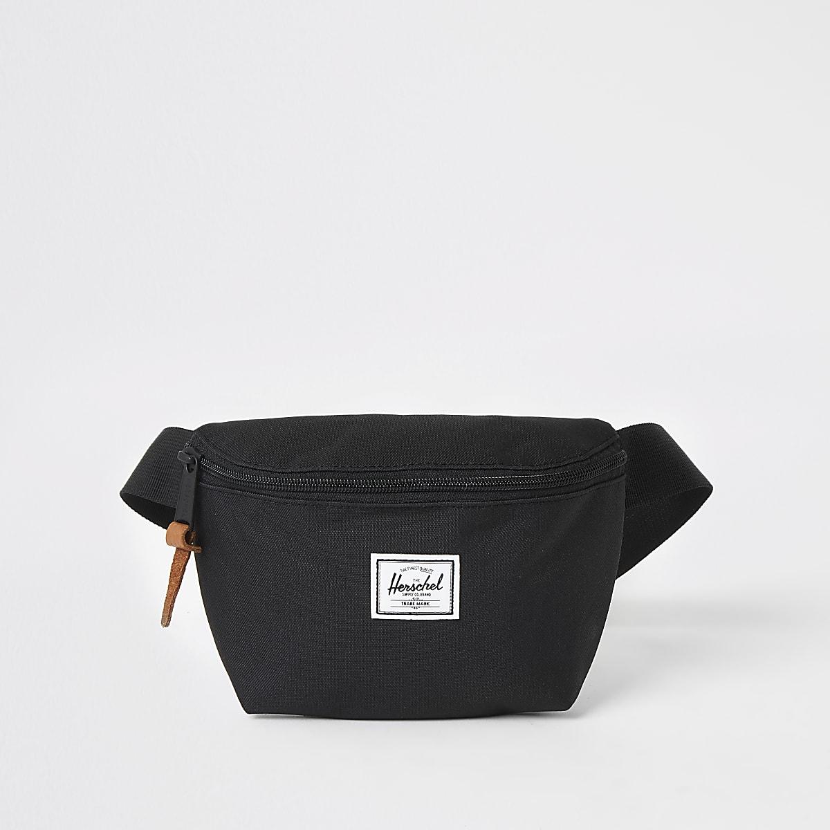 Herschel black Fourteen beltbag