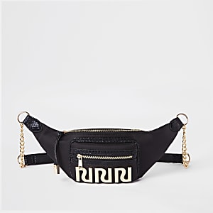 Black RI belt bag