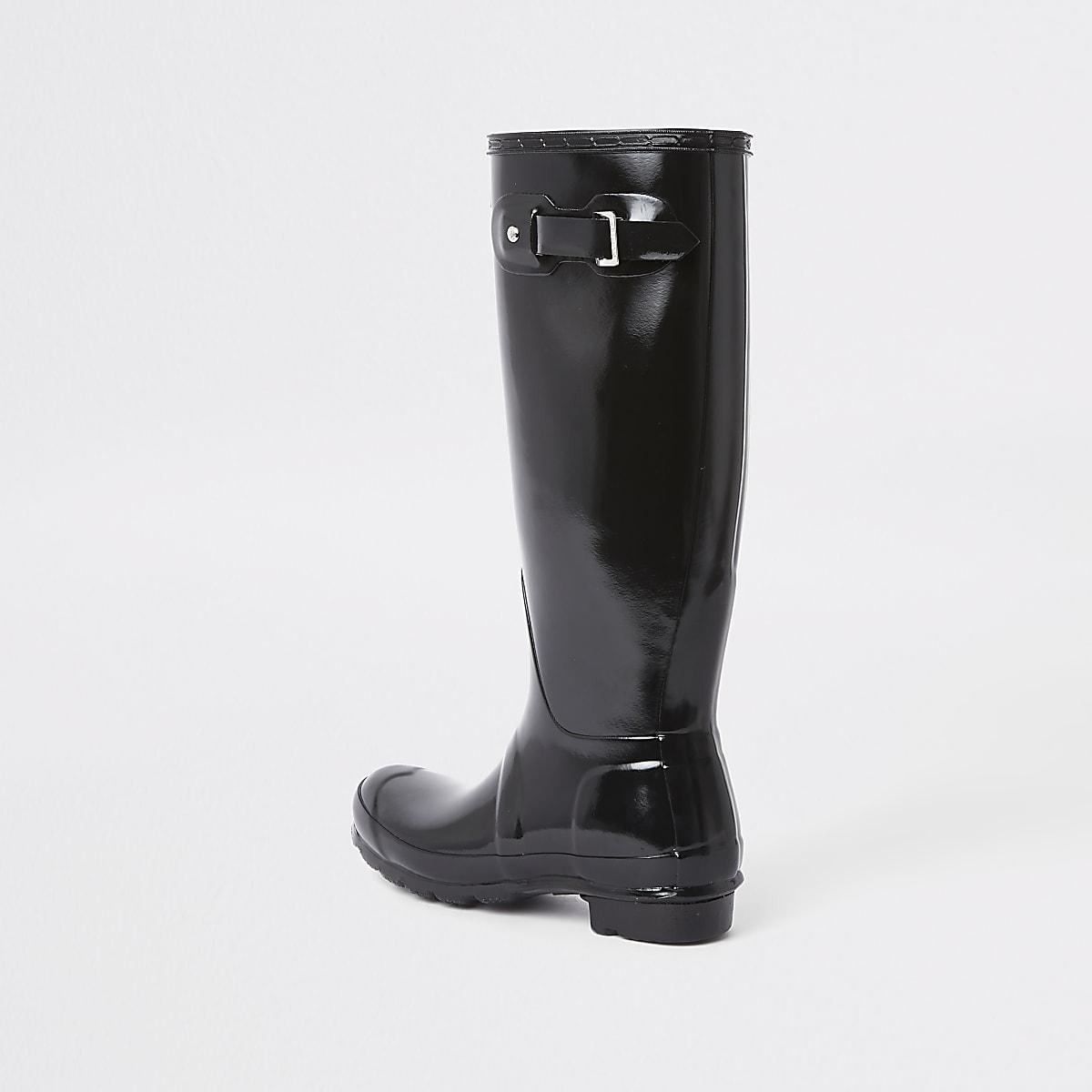 prix raisonnable boutique pour officiel sélectionner pour plus récent Hunter black tall gloss wellington boots