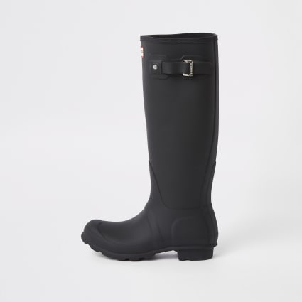 Hunter Original black tall wellington boots