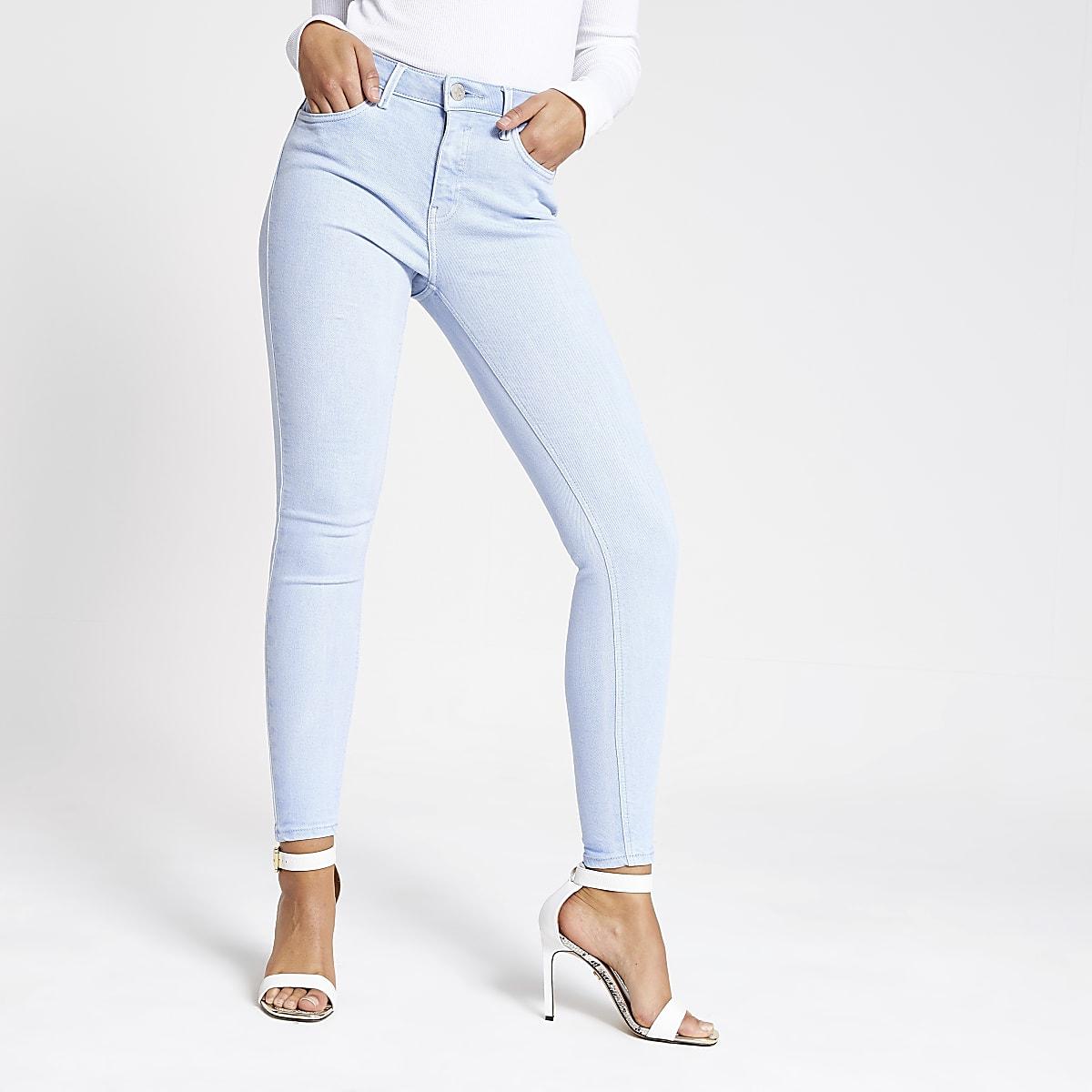 3f06107e904 Light blue Amelie super skinny jeans - Skinny Jeans - Jeans - women