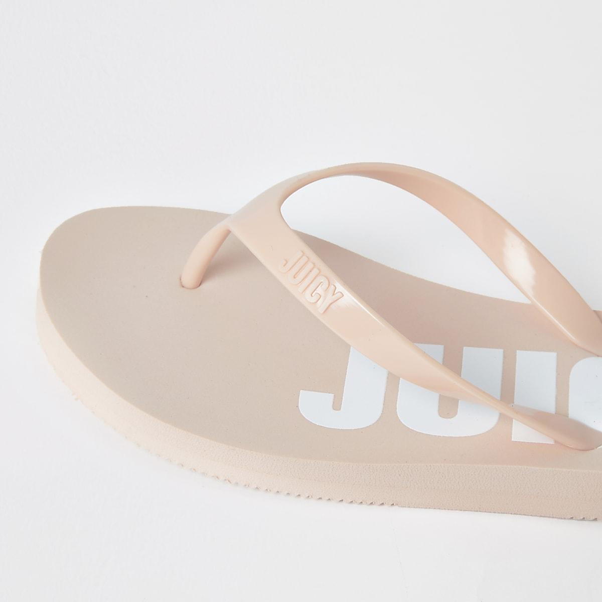 1ba75c4dca8 Juicy Couture pink flip flops