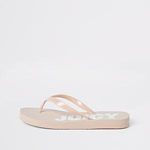Juicy Couture - Roze teenslippers