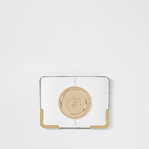 White RI card holder