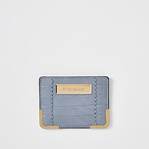 Blue RI card holder