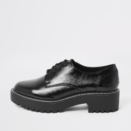 Black lace up brogues