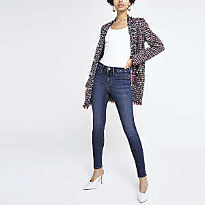 Mid blue denim Molly mid rise RI jeggings