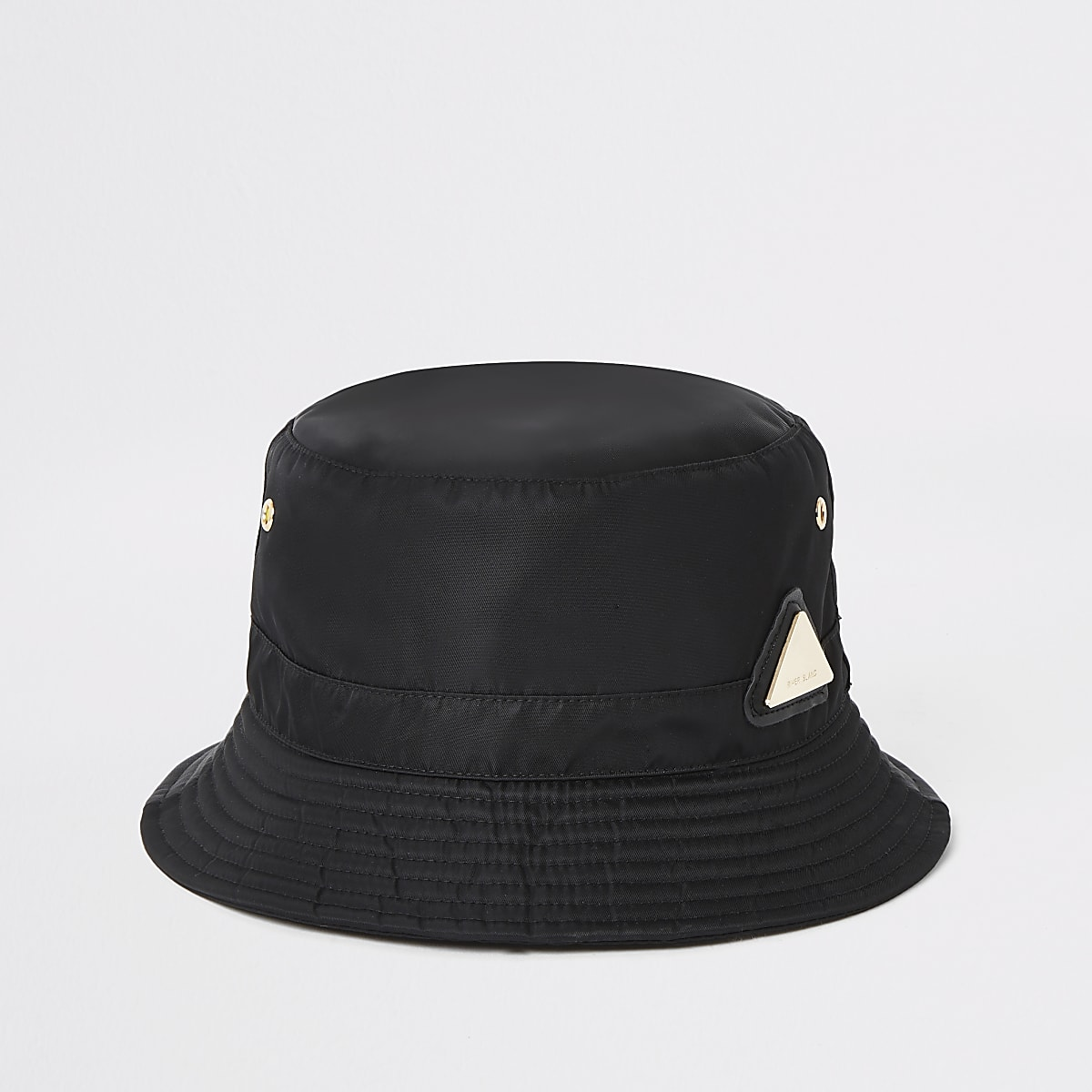 Black RI bucket hat