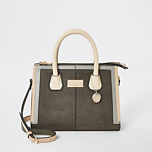 Kaki crossbodyshopper