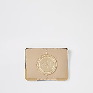Beige RI card holder