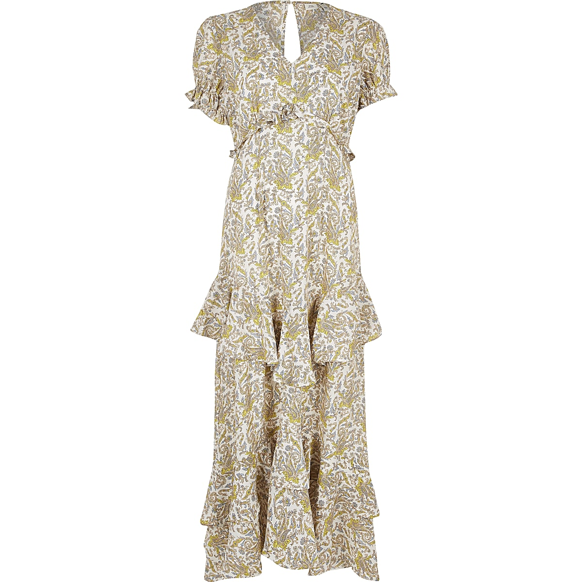 df014d9f Cream paisley print maxi dress - Maxi Dresses - Dresses - women