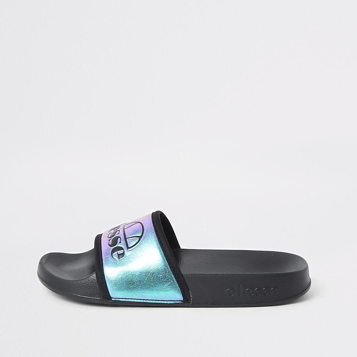Ellesse metallic blue slider
